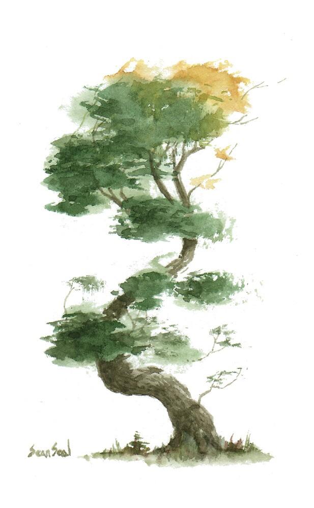 Little Tree 9 by Sean Seal