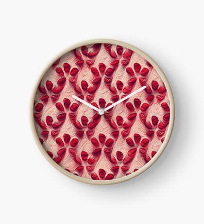 Pomegranate seeds #DeepDream Clock