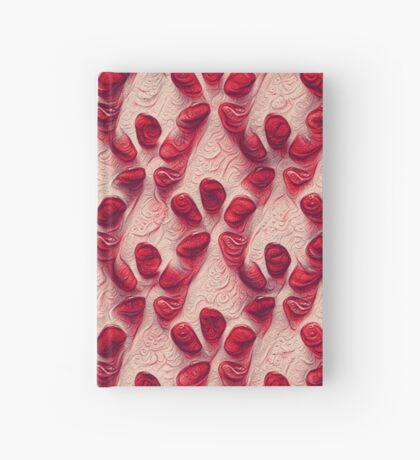 Pomegranate seeds #DeepDream Hardcover Journal