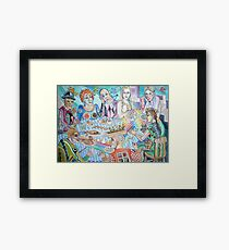 The Artist Guild Luncheon Framed Print