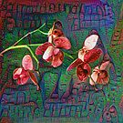 Phalaenopsis A #DeepDream by blackhalt