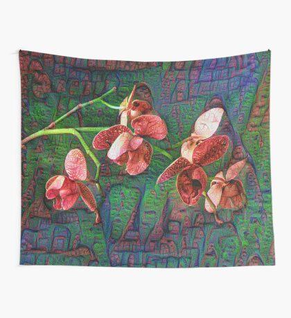 Phalaenopsis A #DeepDream Wall Tapestry