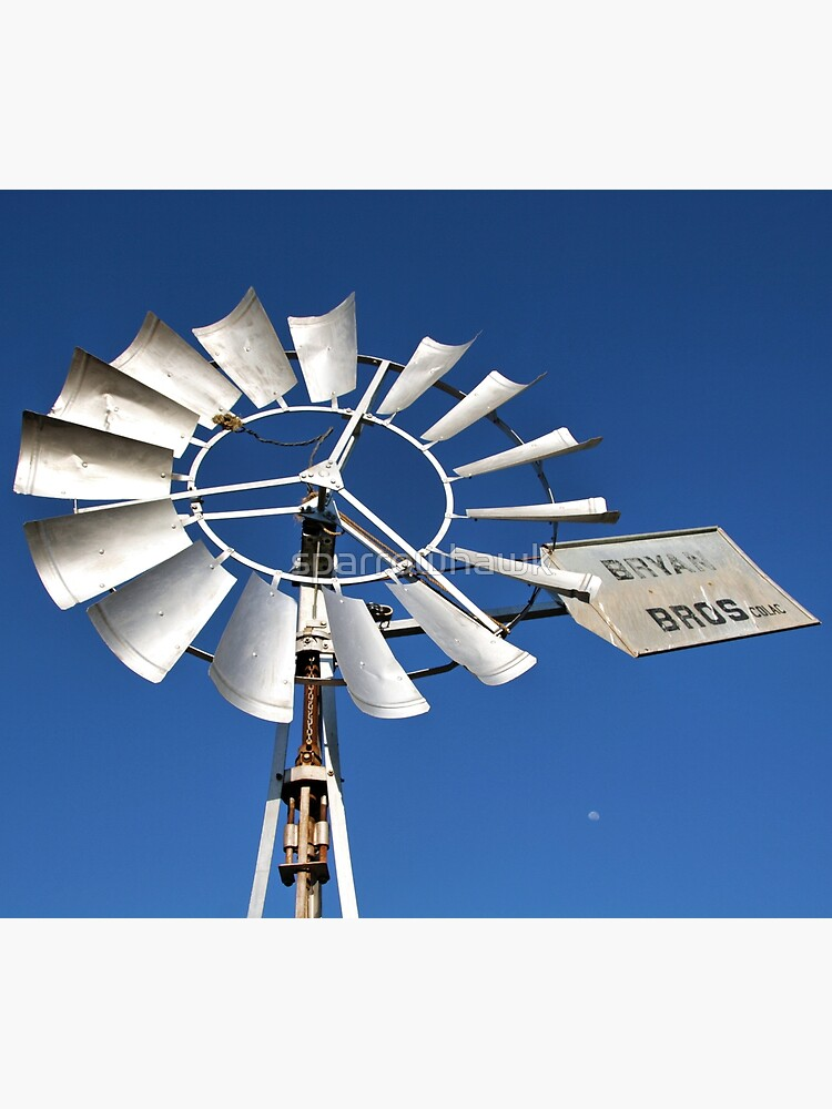 Windmill Moon by sparrowhawk