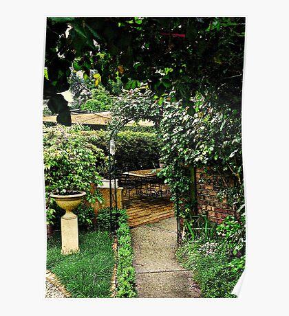 Garden Rooms Poster