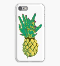 Zombie Pineapple #2 iPhone Case/Skin