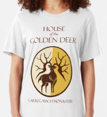 House of the Golden Deer Slim Fit T-Shirt