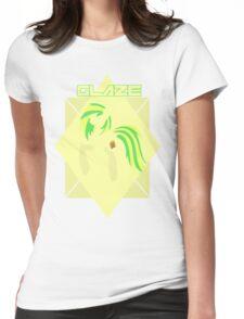Minimalist Glaze Design Womens Fitted T-Shirt