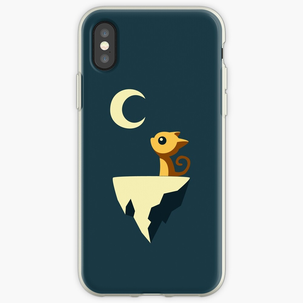 Mond Katze iPhone-Hülle & Cover