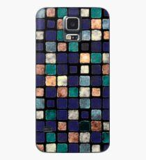 Vintage Squares Pattern Case/Skin for Samsung Galaxy