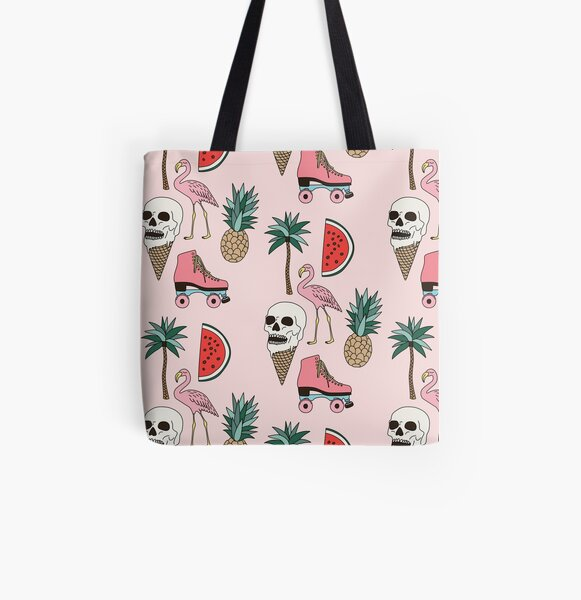 Summer by Elebea All Over Print Tote Bag