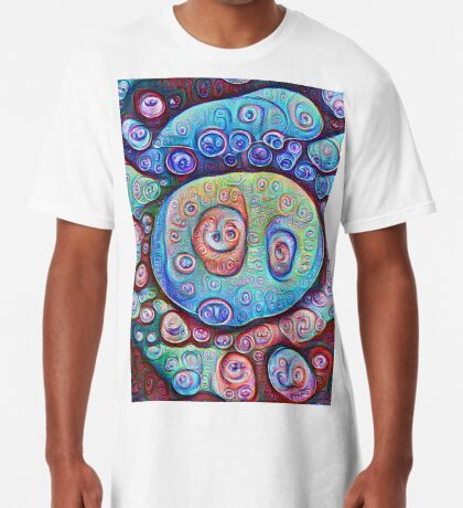 #DeepDream Ice Long T-Shirt