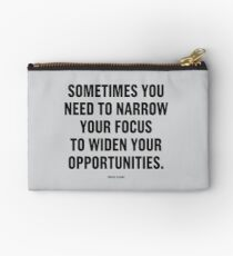 Tobias Sloane Quote Series 9 Studio Pouch