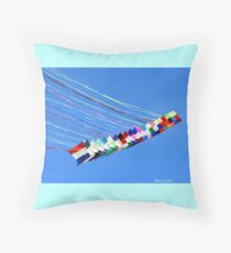 Dip and Dive, Wild and Free Throw Pillow
