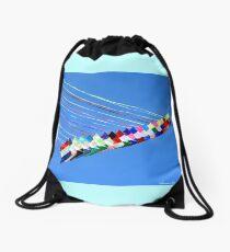 Dip and Dive, Wild and Free Drawstring Bag