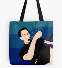 Drowning Man Tote Bag