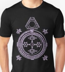 Magical Circle of King Solomon INVERTED Unisex T-Shirt