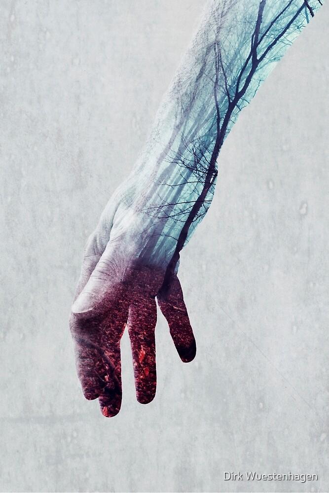 power lines - handscape by Dirk Wuestenhagen