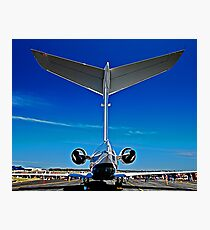 Tall Tail End - CL-604 Challenger Photographic Print