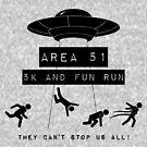 «Área 51 5K y Fun Run» de AngryMongo
