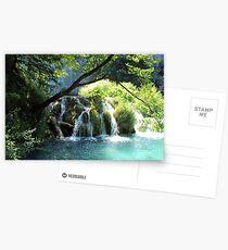 Plitvice Lakes Postcards