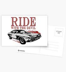 Ride With The Devil Postkarten