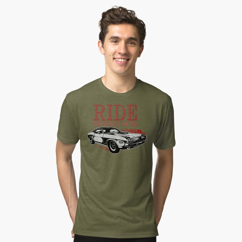 Ride With The Devil Vintage T-Shirt