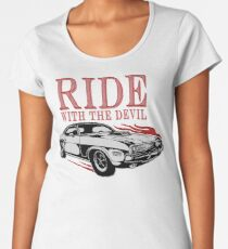 Ride With The Devil Premium Rundhals-Shirt