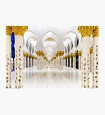 Sheikh Zayed Grand Mosque Photographic Print