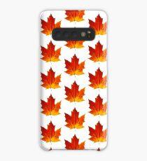 Autumn maple leaf Case/Skin for Samsung Galaxy