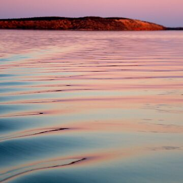 """Glass Off"" Shark Bay, Western Australia by wildimagenation"