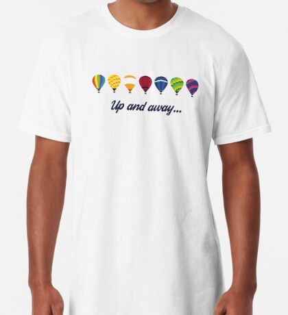 Simplee Random: Up and Away Long T-Shirt