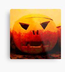 Mr. Pumpkin Metal Print