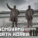 Postcard 2 -  Pyongyang North Korea by RoamingRoan