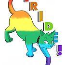 Rainbow Pride Kitty by deannamill2287