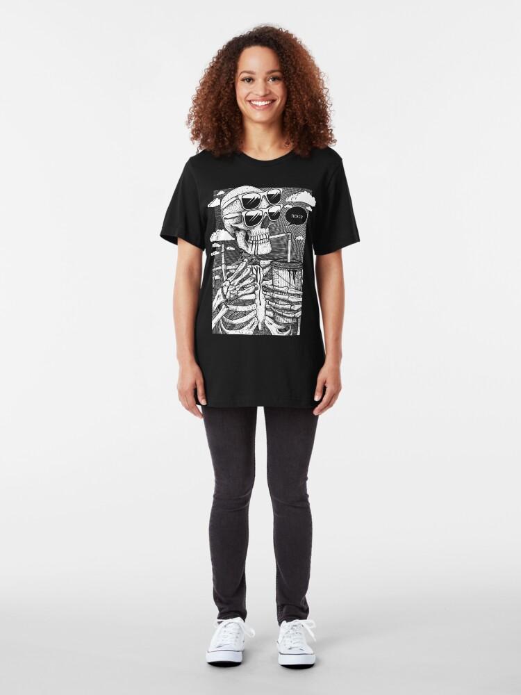 Alternate view of Noice Skeleton Slim Fit T-Shirt