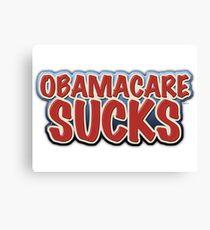 Obamacare Sucks Canvas Print