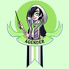 I was sorted into the Agender House by evocaitart