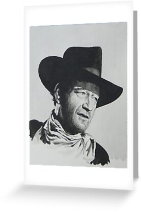 John Wayne. by Robert David Gellion