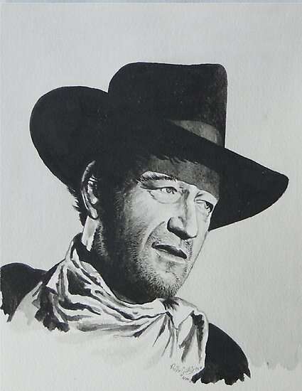 John Wayne. by Robert David Gellion