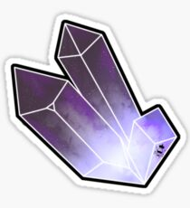 Witch Ritual - galaxy crystal Sticker