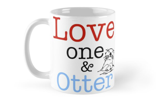 Love One & Otter by Harry James Grout