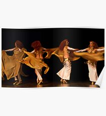 Arabian Dancer Poster