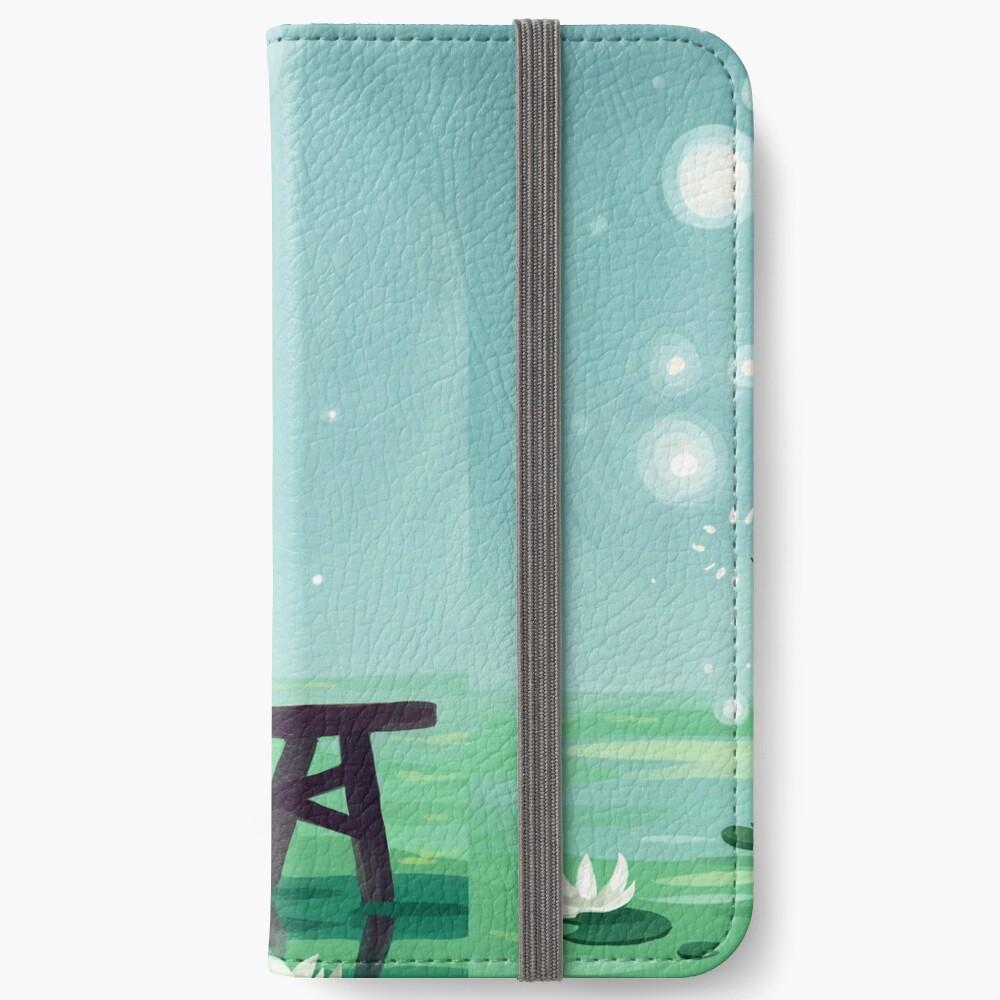 Bubbles iPhone Flip-Case