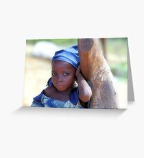 Beautiful Child Greeting Card