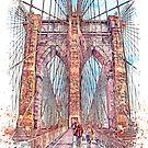 «puente de Brooklyn» de John Novis