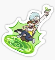 Absolutely Rick-diculous [No Text] Sticker