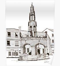 Shepton Mallet Market Cross Somerset Poster