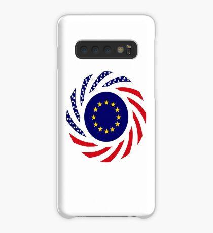 European American Multinational Patriot Flag Series Case/Skin for Samsung Galaxy