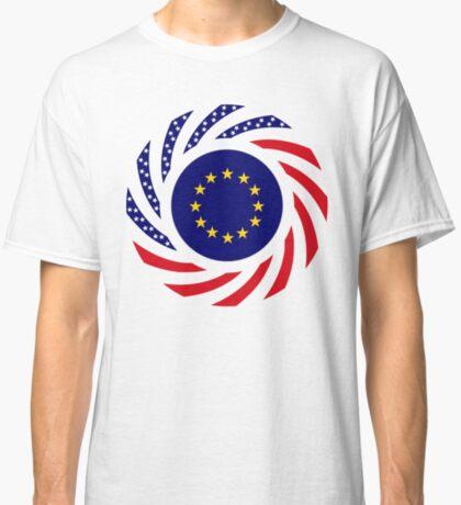 European American Multinational Patriot Flag Series Classic T-Shirt