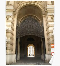 Archway at The Hofburg Poster